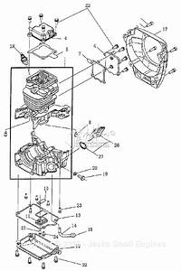 Robin  Subaru Eh035v Parts Diagram For Crankcase Parts