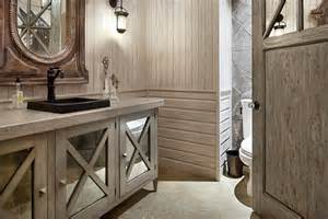 Small Rustic Bathroom Images by Luxury Home In Texas When Rustic Meets Modern Freshome Com