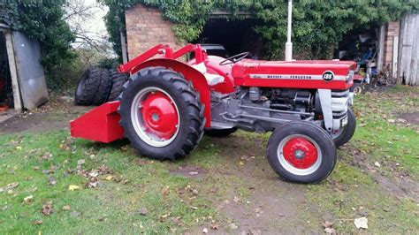 1965 massey ferguson 135 restored we tractor in cookstown county tyrone gumtree