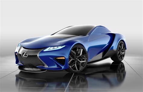 lexus lfa 2020 californian designer thinks up lexus lf la concept