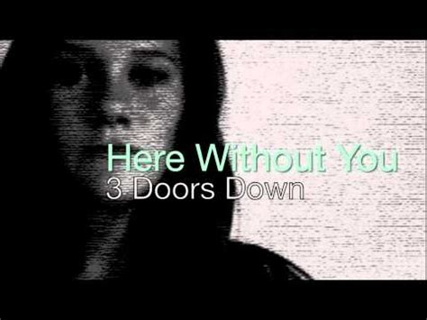 3 doors here without you here without you 3 doors acapella multitrack