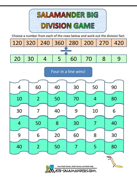 bureau gaming best division worksheets math 4 third grade