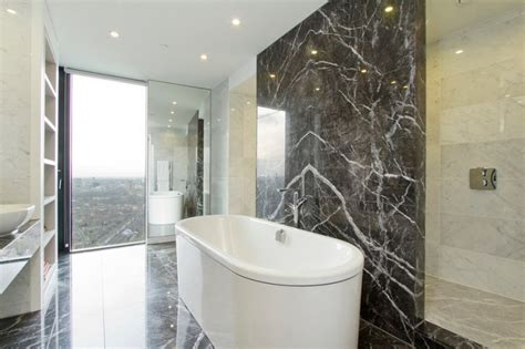 using marble in bathrooms 10 spectacular rooms with marble walls