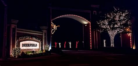 deerfield christmas lights plano magazine