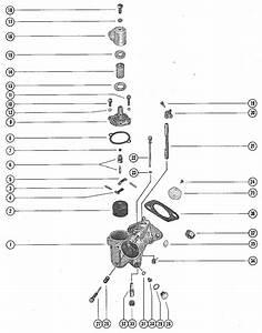Mercury Marine 650  4 Cylinder  Carburetor Assembly Parts