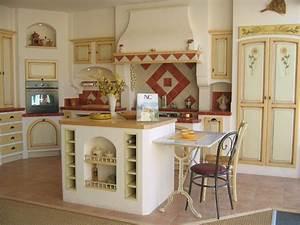 carrelage mural cuisine provencale galerie avec decoration With carrelage mural cuisine provencale