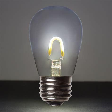 cool white glass flexfilament tm led edison bulb