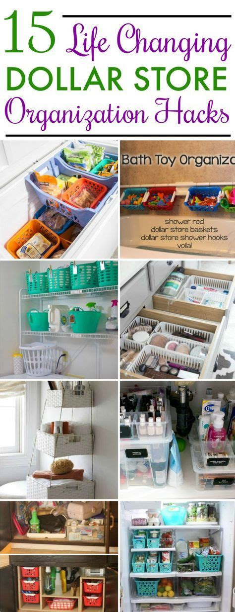 Kitchen Organization Dollar Store by 15 Dollar Store Organization Ideas For Every Area In Your