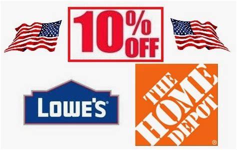 Discounts & Deals 4 Military Home Improvement Stores