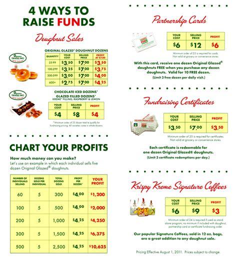 fundraising krispy kreme style  ordinary life