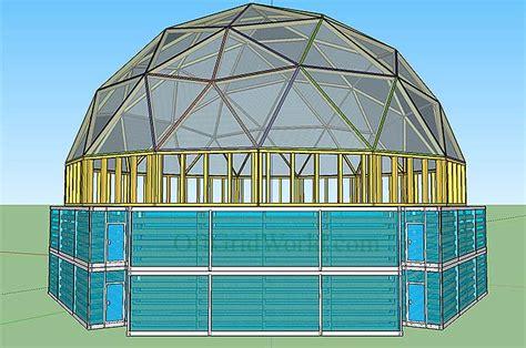 portable solar powered aquaponics greenhouse  grow food