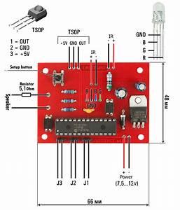 Laser Tag Artefact Device Electronic Circuit Diagram