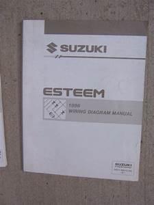 1996 Suzuki Esteem Auto Wiring Diagram Manual Circuit