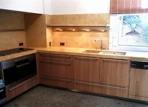Evier Cuisine En Pierre : plans de travail de cuisine en marbre pierre et granit ~ Premium-room.com Idées de Décoration