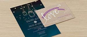 Custom invitations make your own invitations online for Best paper for wedding invitations vistaprint