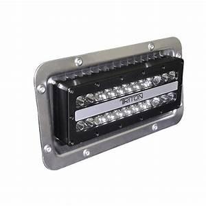Lumitec lighting triton led flood lights recessed mount