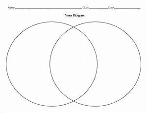 8  Blank Venn Diagram Templates  U2013 Free Sample  Example