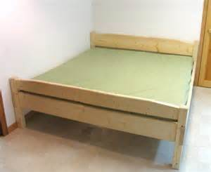 king size bed frame plans how to build a blanket chest diy