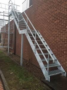Steel Stairs - Morris Fabrications Ltd