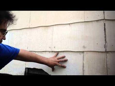 remove asbestos siding youtube