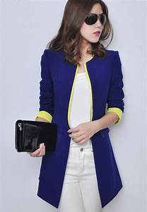 Long Womens Blazer - Trendy Clothes