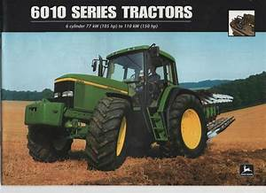 John Deere 6010 6110 6210 6310 6410 6510 6610 Workshop