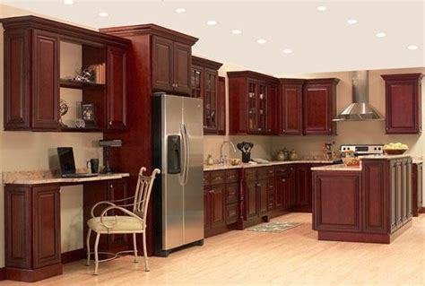common kitchen paint colours with cherry cupboards