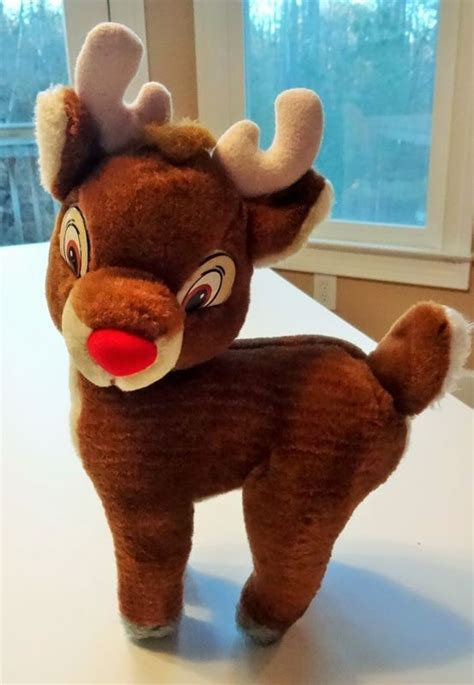 plush animatronic rudolph the nosed 1000 images about inspiration on reindeer