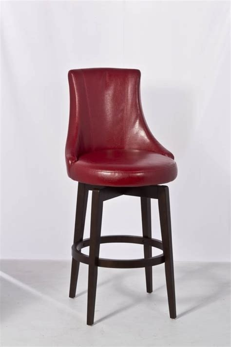 leather swivel bar stools  arms kitchen double