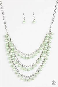 Chicly, Classic, Green, Necklace