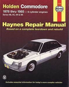 Holden Commodore Vh Vk 8 Cyl 1981 1985 Gregorys Service