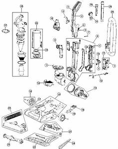 Hoover Uh70105 Windtunnel Pet Vacuum Repair Parts