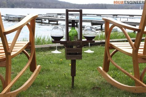 Outdoor Wine Caddy » Rogue Engineer