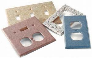 Solid Surface Switch Plates From Rock Solid