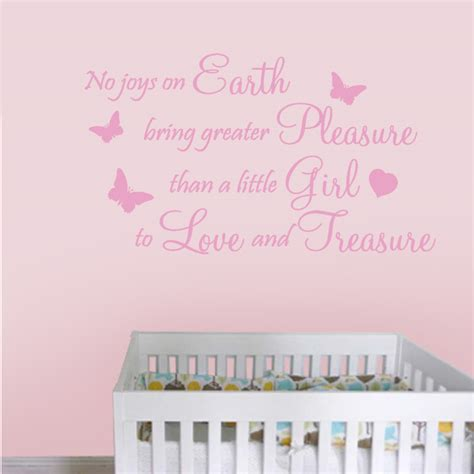 joys  earth girl wall decal sticker quote baby