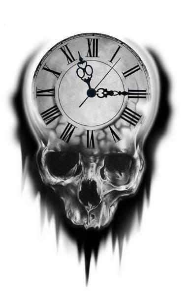 Pin by Becks on Ticking Away Time | Clock tattoo design