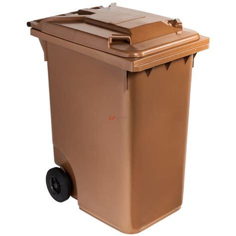 container cuisine poubelle plastique à 360 litres