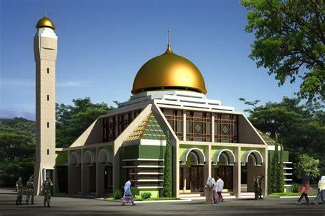gambar desain masjid minimalis modern inspirasi desain