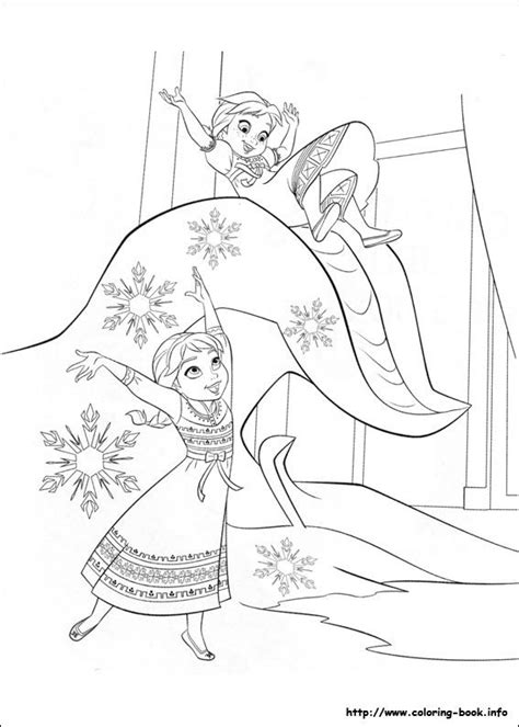 frozen printable coloring activity pages