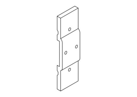 kawneer frame reinforcement  standard intermediate pivot