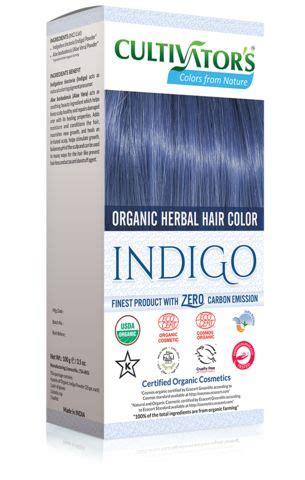 organic herbal hair color indigo natural hair dye