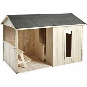 Cabane Bois Leroy Merlin : maisonnette bois cyrielle soulet m leroy merlin 299 enfant maisonnette en bois ~ Melissatoandfro.com Idées de Décoration