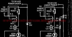 Simple Readjust Shutdown Wiring Diagram Schematic