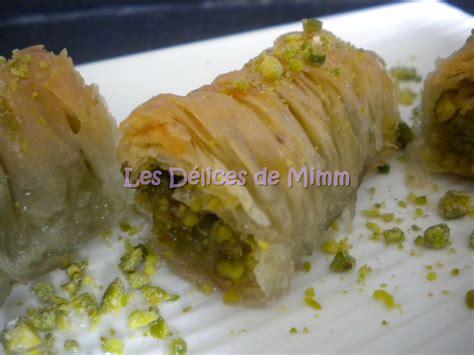 cuisine libanaise facile baklavas rolls aux pistaches recette libanaise les