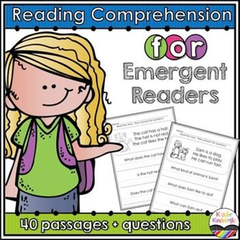 Reading Comprehension Is An Important Skill That All Children Need To Practice This Is A Set Of