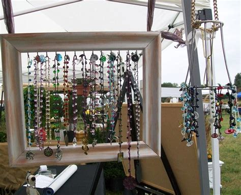 how to display picture frame jewelry display pinterest jewellery display display and craft