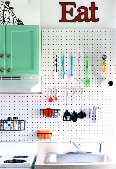 pegboard kitchen organizer the best storage ideas for maximizing cooking space 1445