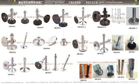 M20 Rubber Table Leg Adjustable,Metal Table Leg Levelers