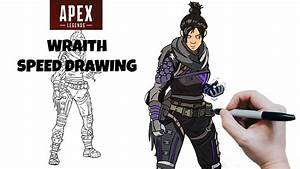 Wraith Apex Legends Speed Drawing
