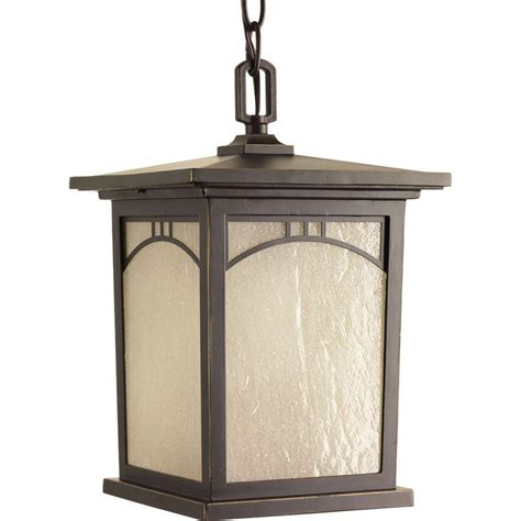 home depot outdoor hanging lights progress lighting residence collection 1 light antique